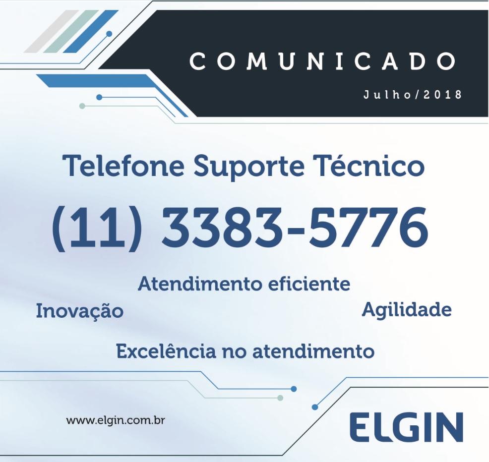 Telefone Suporte Técnico